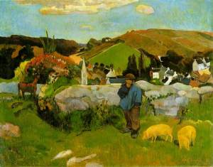 gauguin.swineherd