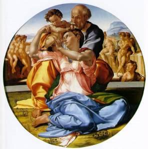 michelangello-holy-family